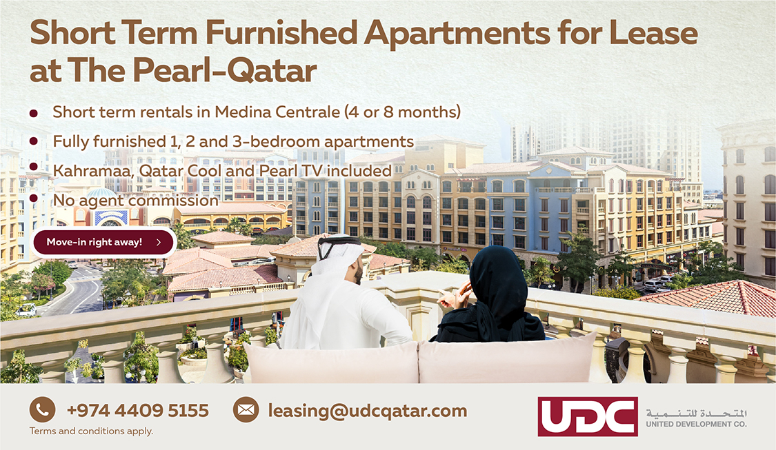 Short Term Furnished Apartments For Lease At The Pearl Qata